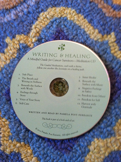 "CD track 2, ""The Breath and Writing in Stillness"""